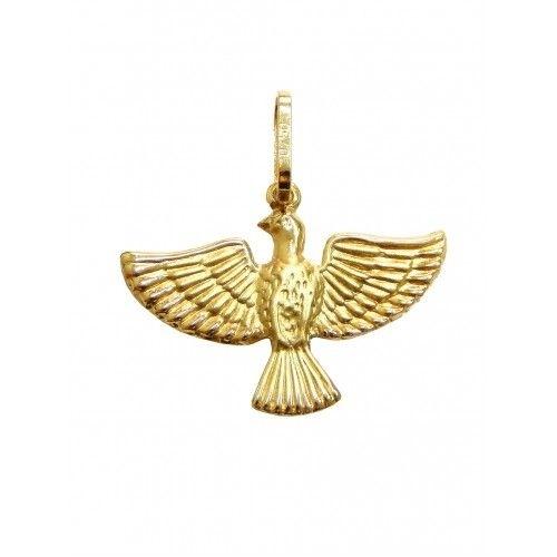 Pingente Ouro 18k Divino Espírito Santo