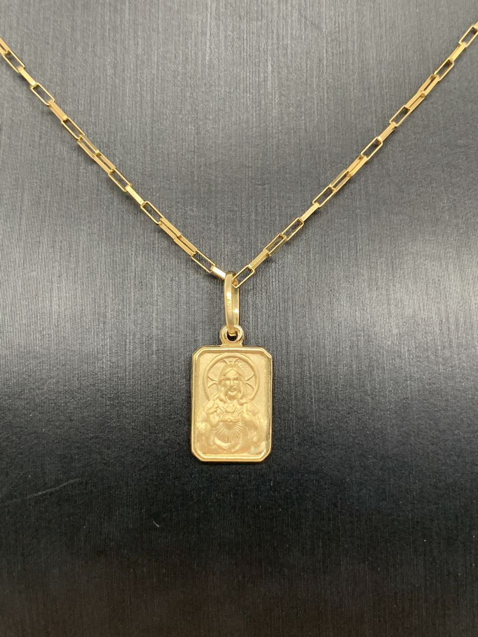Pingente Ouro 18k Nossa Senhora do Carmo