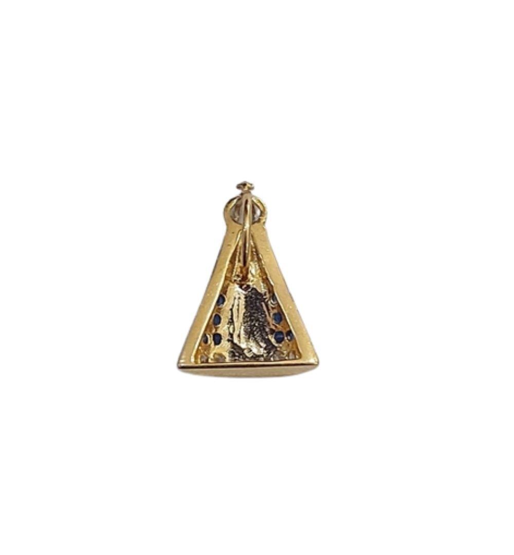 Pingente Ouro 18k Nossa Senhora