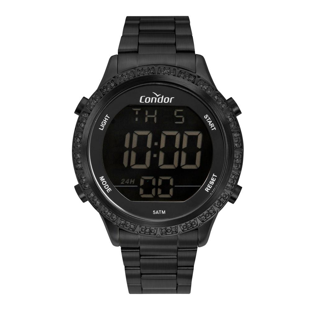 Relógio Condor Digital Preto COBJ3463AJ/4P