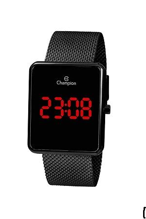 Relógio Feminino Champion Digital Preto CH40080D