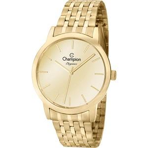 Relógio Feminino Champion Dourado CN27732G