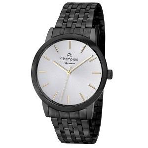 Relógio Feminino Champion Elegance Preto CN27732D