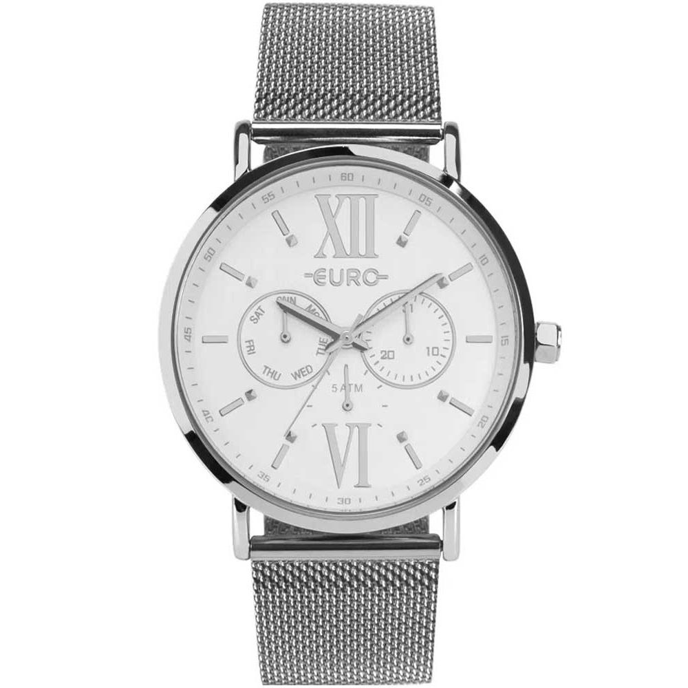 Relógio Feminino Euro Prata EU6P29AHFBP/3K