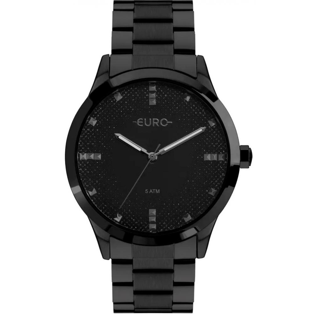 Relógio Feminino Euro Preto EU2036YOL/4P