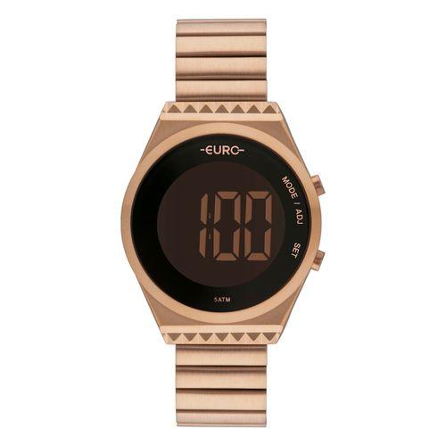 Relógio Feminino Euro Rose Digital EUBJT016AB/4J L