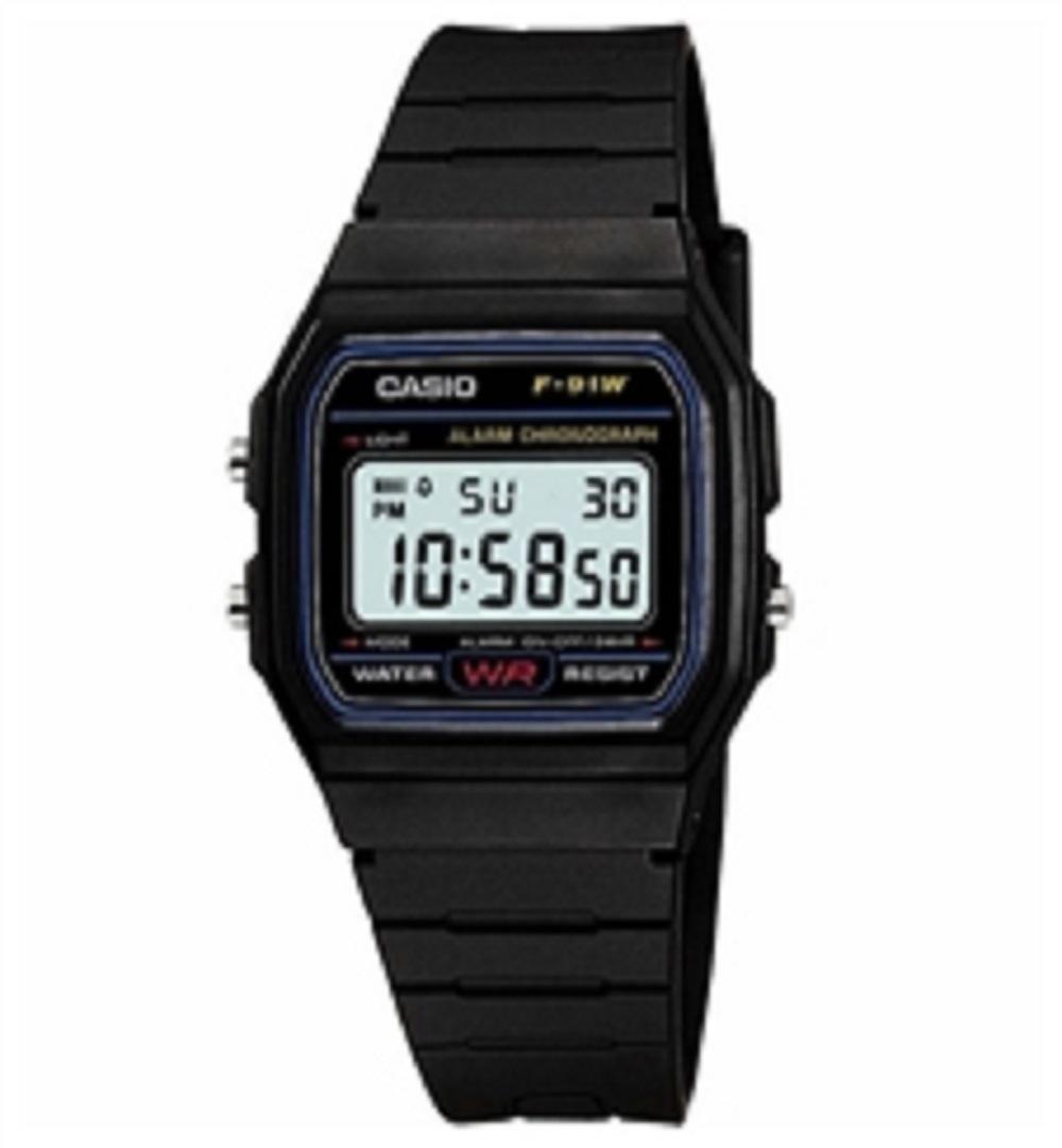 Relógio Masculino Casio Preto F91W1DG