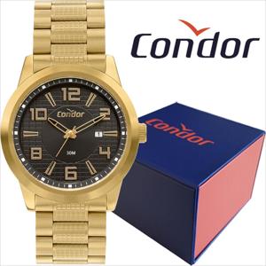 Relógio Masculino Condor Dourado COPC32BG/4D