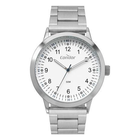 Relógio Masculino Condor Prata CO2035MXT/4K