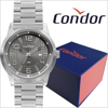 Relógio Masculino Condor Prata COPC32BF/4F