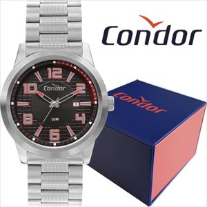 Relógio Masculino Condor Prata COPC32BH/3P