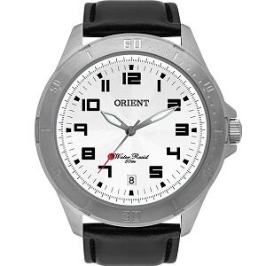 Relógio Masculino Orient Couro Preto MBSC1032S2PX