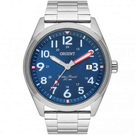Relógio Masculino Orient Prata MBSS1396D2SX
