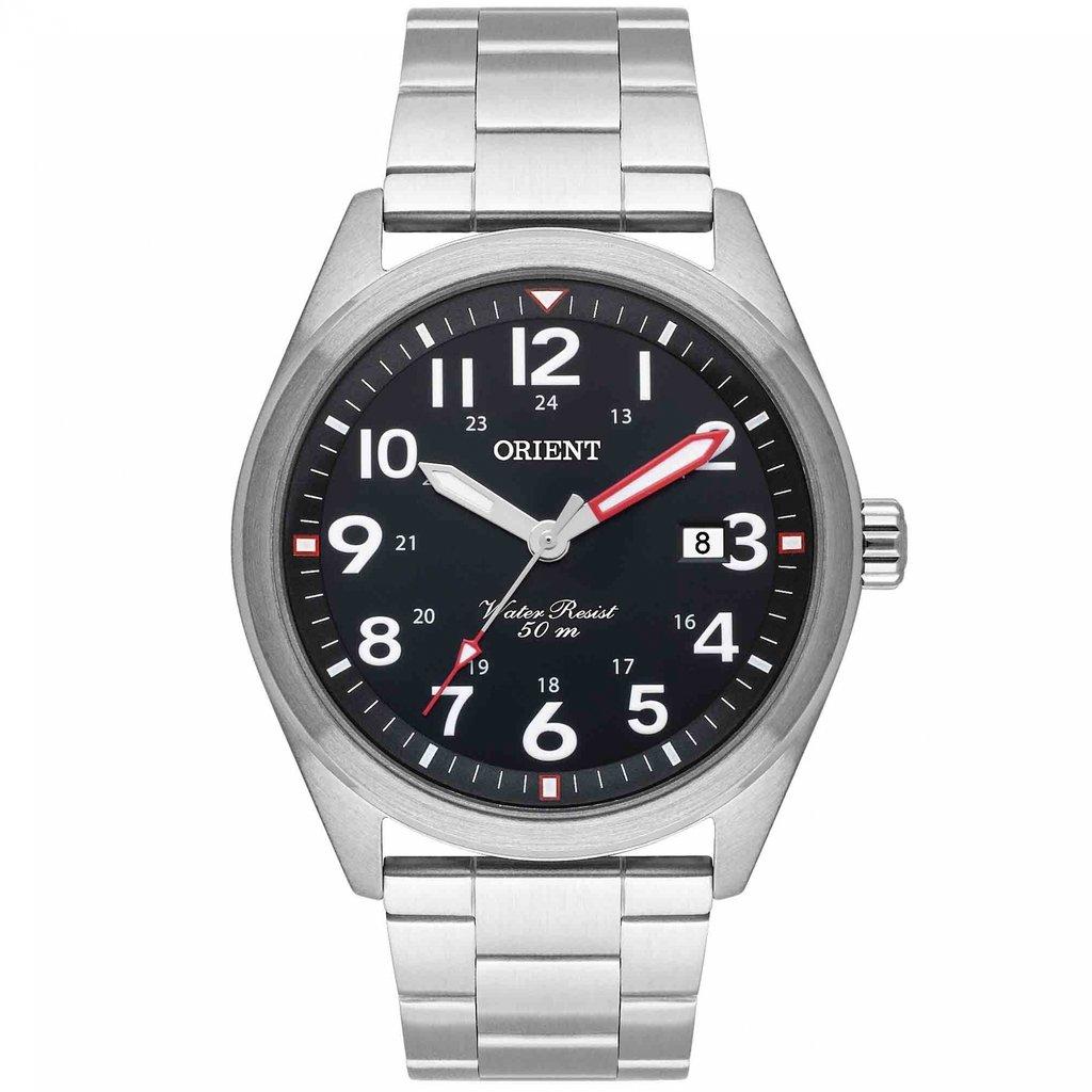 Relógio Masculino Orient Prata MBSS1396P2SX