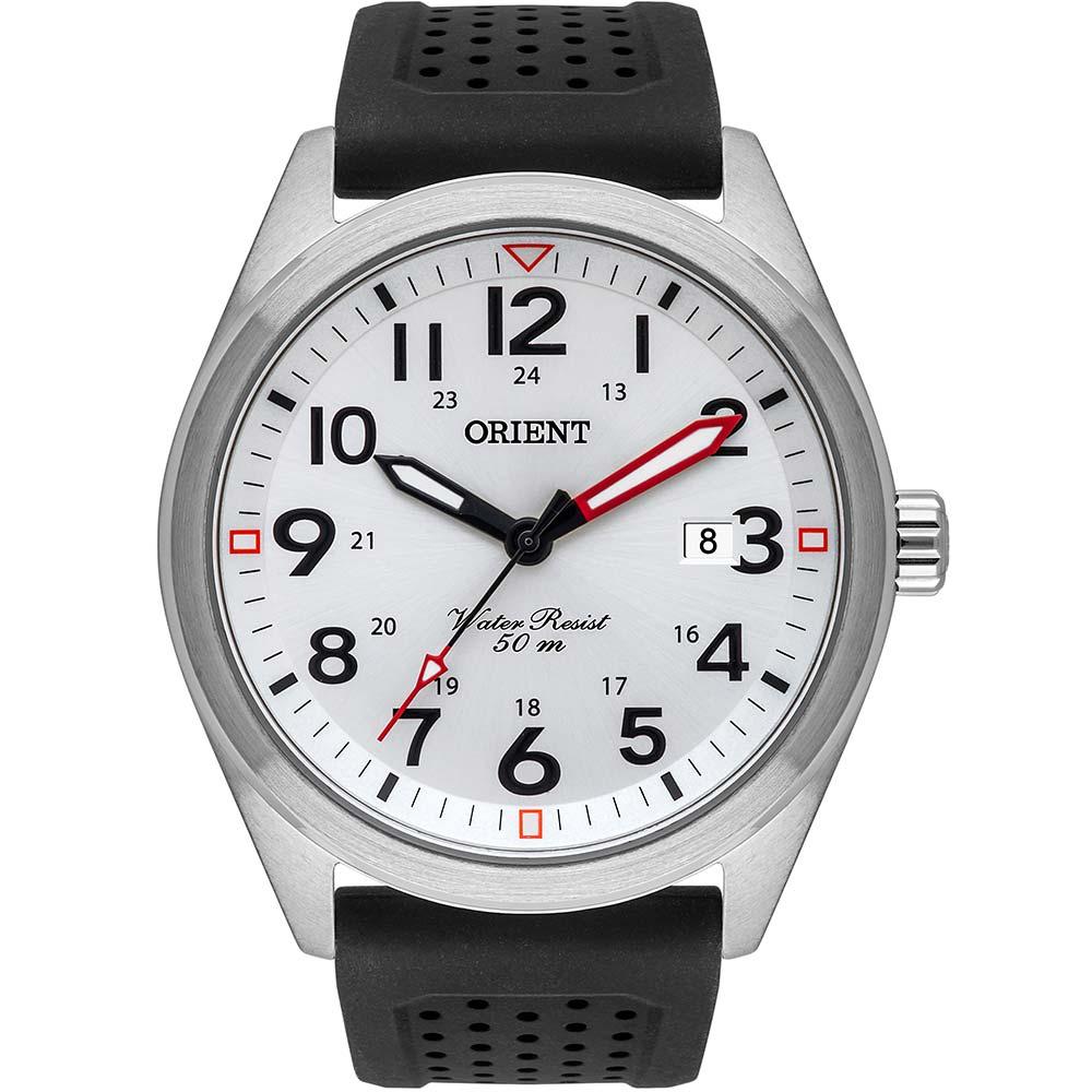 Relógio Masculino Orient Silicone Preto MBSP1028S2PX