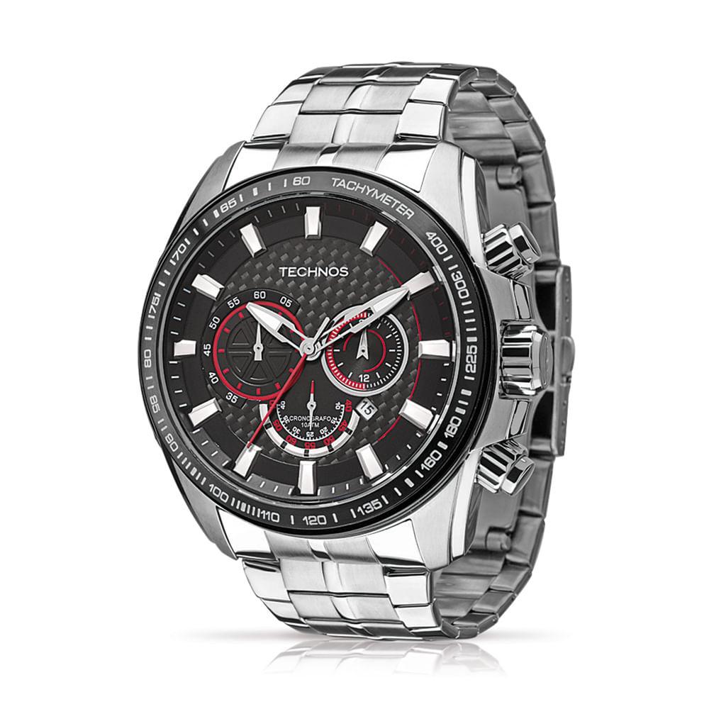 Relógio Masculino Technos Prata OS20IG/1P