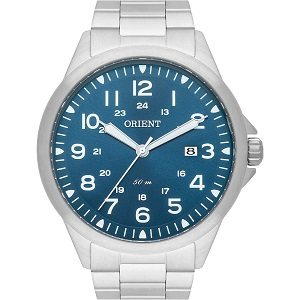 Relógio Orient Masculino Prata MBSS1380D2SX