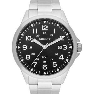 Relógio Orient Masculino Prata MBSS1380P2SX