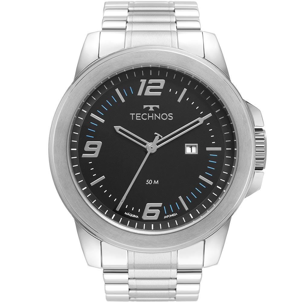 Relógio Technos Y Prata Analógico 2115MNY/1A