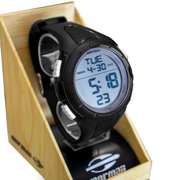 Relógio Unisex Mormaii Preto MOM14810/8B
