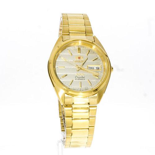 Relógio Y Orient Automático Dourado FAB0000BC9