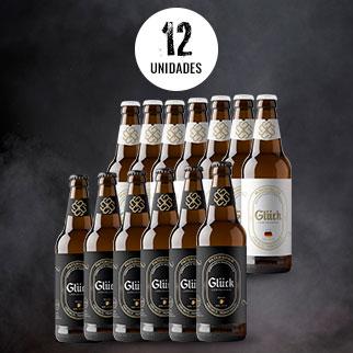 6 MUNICH HELES (Lager) + 6 PATERSBIER (Pale Ale) – Refrescante e Maltada