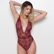 Body Lorhen Renda/Body Renda Sexy Lorhen