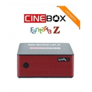 Cinebox Fantasia Z ACM com wifi sks iks Iptv Vod