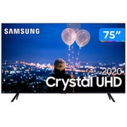 "Smart TV Crystal UHD 4K LED 75"" Samsung - 75TU8000 Wi-Fi Bluetooth HDR 3 HDMI 2 USB"