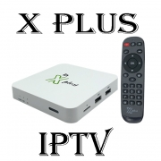 X Plus Iptv Android youtube netflix Vod é series