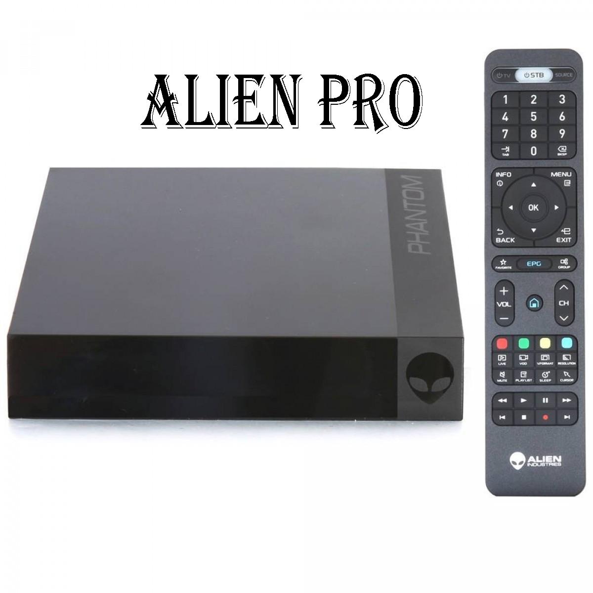 Alien Pro 4K Android sem Antenas  16GB + 2GB