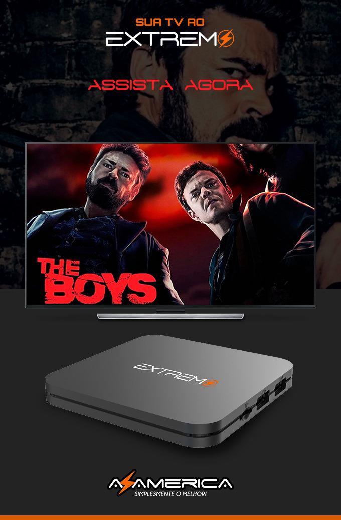 AZAMERICA EXTREMO IPTV 4K SOMENTE INTERNET