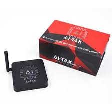 BOX AI-TAK Pro 1 ANDROID+ WI-FI+VOD SEM ANTENAS