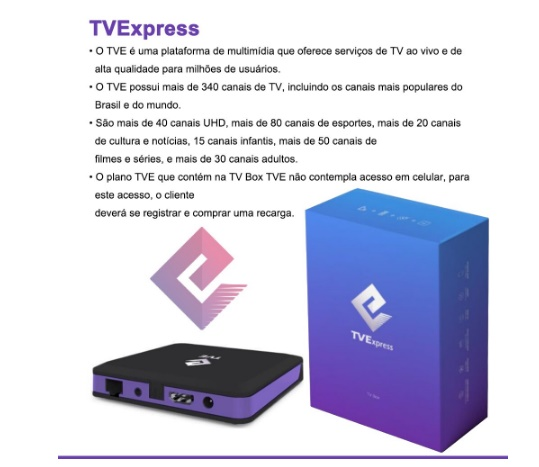 BOX TV EXPRESS  ANDROID TV SMART COMPLETO