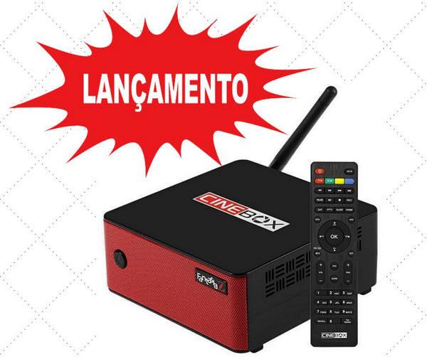 Cinebox Fantasia Z ACM com wifi sks iks Iptv Vod