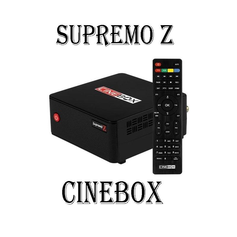 Cinebox Supremo Z ACM com wifi sks iks Filmes