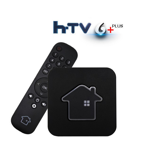 HTV 6 + 4k Android PTV 16GB - Somente Internet