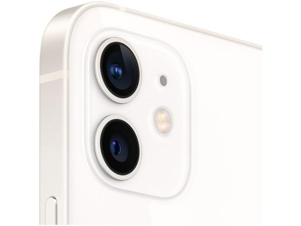 "iPhone 12 Apple 64GB Branco 6,1"" Câm. Dupla 12MP - iOS Saldão"