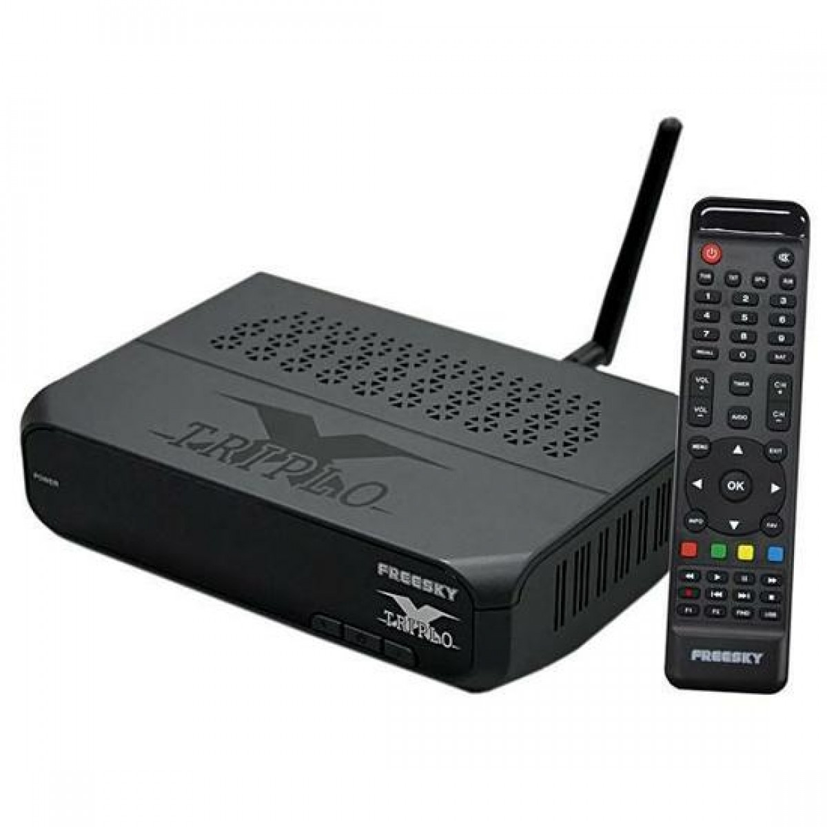 Receptor Freesky TRIPLO X HD ACM 3 Tunner Tunner Tv Digital Terrestre