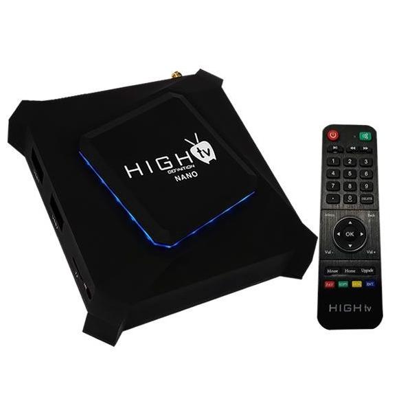 Receptor High TV Nano 4K/Iptv/Wifi +  Completo do Mercado 2 servi