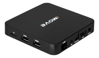 Receptor Imove Box 4K Wi-Fi Iptv Android