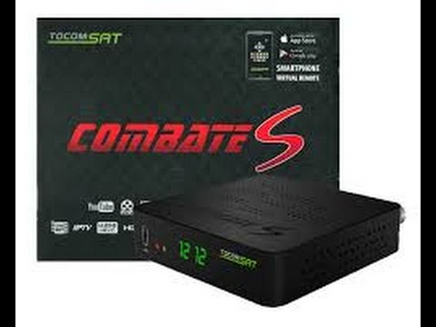 RECEPTOR TOCOMSAT COMBATE S4 FULL HD COM WI-FI