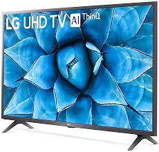 "Smart TV LG 55"" UHD 4K Controle Smart Magic ThinQ Ai 55UN7310PSC"