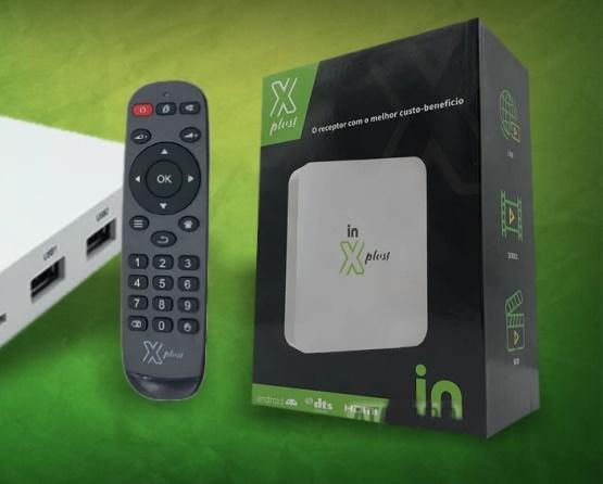 X Plus In  +  nova Box do mercado completa com Youtube+Netflix  o Famoso Ondeman  com Filmes é Series