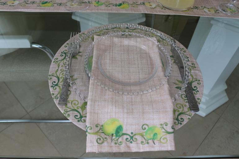 Kit de Guardanapos Maçã/Verde