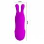 Dedeira com Orelhinhas e 7 Modos de Vibração - Recarregável - Finger Bunny - Magenta