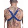 Harness Masculina em Elástico e Detalhes em Metal - Cores