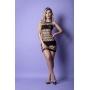 Mini Vestido Sensual com Alça Fina e Detalhes em Tiras - Y2067