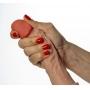 Prótese Peniana com Glande Saliente em Realistic Skin e Ventosa 21cm - Leonard - Cores