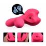Vibrador Duplo com Sucção e Controle Remoto - Pink